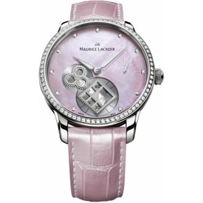 "Maurice Lacroix Masterpiece Square Wheel ""Pink Pearl"""
