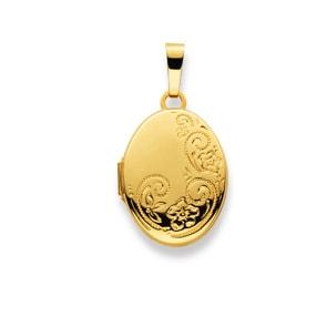Medaillon zum Öffnen 750/18 K Gelbgold
