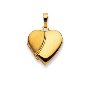 Medaillon zum Öffnen 750/18 K Gelbgold, Herz