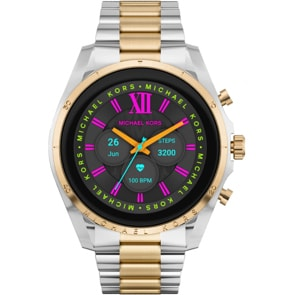 Michael Kors Access Bradshaw Gen 6 Smartwatch HR Bicolore