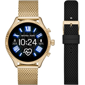 Michael Kors Access Lexington 2 Gold 5.0 Smartwatch HR Set