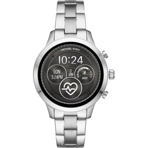 Michael Kors Access Runway Silber 4.0 Smartwatch HR