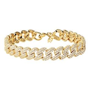 Michael Kors Premium 925 Silber Armband MK Statement Link