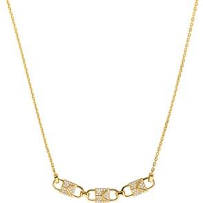 Michael Kors Premium 925 Silber Kette MK Frozen Link