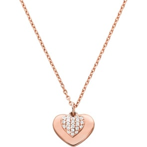 Michael Kors Premium 925 Silber Kette MK Love