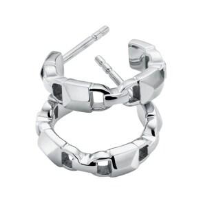 Michael Kors Premium 925 Silber Kreolen MK Mercer Link