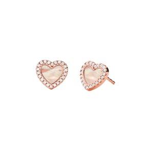 Michael Kors Premium 925 Silber Ohrstecker MK Love