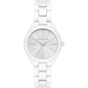 Michael Kors Slim Runway White