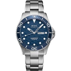Mido Ocean Star 200C Automatik Blau