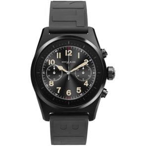 Montblanc Summit Lite Smartwatch Kautschuk schwarz