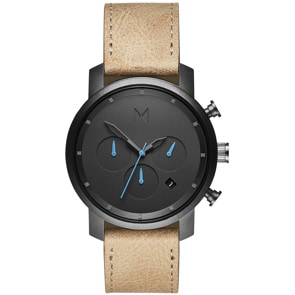 MVMT Chrono Gunmetal Sandstone 40mm