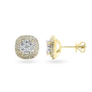 Ohrstecker 750/18 K Gelbgold mit Diamanten 1.00 ct H/si by CHRISTIAN