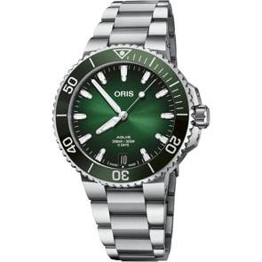Oris Aquis Date Calibre 400 Grün Ø 41.5mm