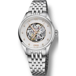 Oris Artelier Skeleton, Diamonds