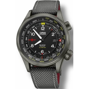 Oris Big Crown ProPilot Altimeter Rega Limited Edition mit Meter-Skala
