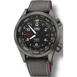 Oris Big Crown ProPilot Altimeter Rega Limited Edition mit Fuß-Skala