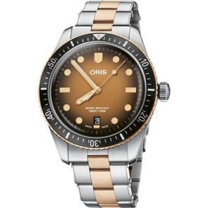 Oris Divers Sixty-Five Braun auf Bico-Band