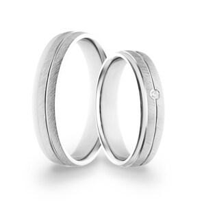Paarringe 925 Silber Parma-Paar