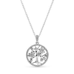 Pandora Moments Funkelnde Stammbaum Halskette