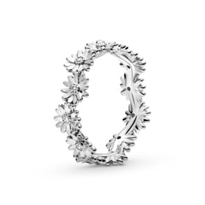 Pandora Moments Funkelnder Gänseblümchen Kronen-Ring
