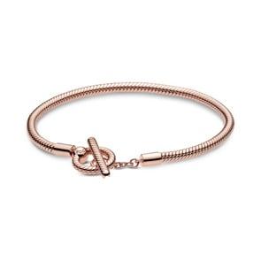 Pandora Rose Moments T-Verschluss Schlangen-Gliederarmband