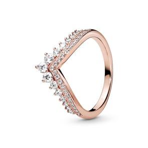Pandora Rose Timeless Prinzessin-Wishbone Ring