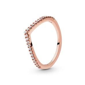 Pandora Rose Timeless Sparkling Wishbone Ring