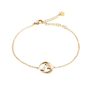Paul Hewitt Bracelet Sail Away IP Gold