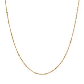 Paul Hewitt Halskette Horizon Ball Chain Gold