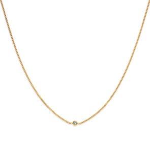Paul Hewitt Halskette Rainbow Stone Gold