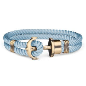 Paul Hewitt Phrep Brass Anchor Bracelet Nylon Niagara