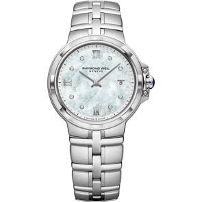 Raymond Weil Parsifal Classic Diamond Silber Ø 30mm