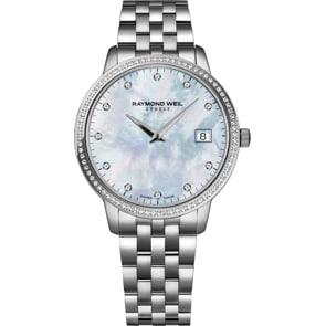 Raymond Weil Toccata Diamond Silber Ø 34mm