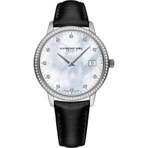 Raymond Weil Toccata Diamond Silber / Perlmutt Ø 34mm