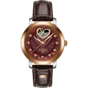 Roamer Lady Sweetheart Open Heart Automatic