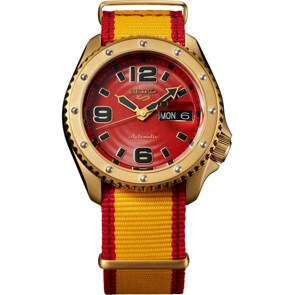 Seiko 5 Sports Street Fighter V Zangief Limited Edition