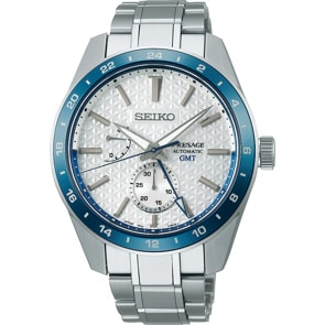 Seiko Presage Automatik GMT Sharp Edged 140th Anniversary Limited Edition