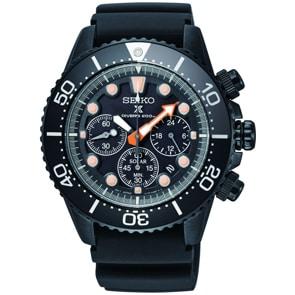 Seiko Prospex Black Series Solar Chronograph Diver`s Limited Edition