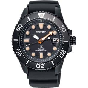 Seiko Prospex Black Series Solar Diver`s Special Edition