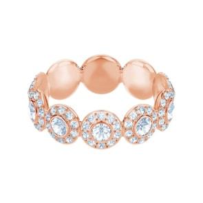 Swarovski Angelic Ring, weiss, rosé vergoldet