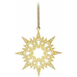 Swarovski Crystal Pixel Star Ornament (3er Set)