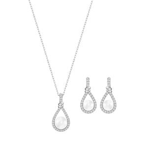 Swarovski Enlace Set   Halskette mit Ohrstecker