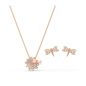 Swarovski Eternal Flower Dragonfly Set | Halskette mit Ohrstecker