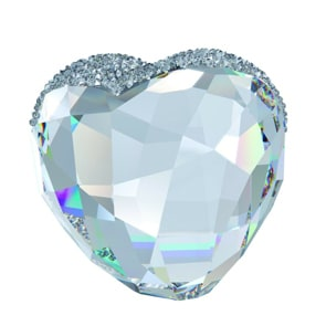 Swarovski Love Heart gross