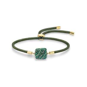 Swarovski Power Collection Earth Element Armband, grün, vergoldet