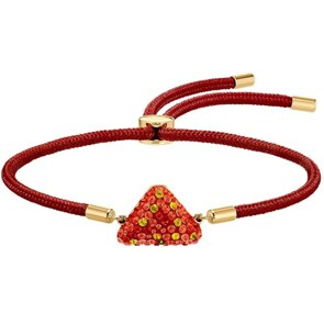 Swarovski Power Collection Fire Element Armband, rot, vergoldet