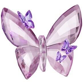 Swarovski Schmetterling, Light Amethyst, groß