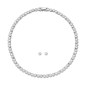 Swarovski Tennis Set | Collier mit Ohrstecker