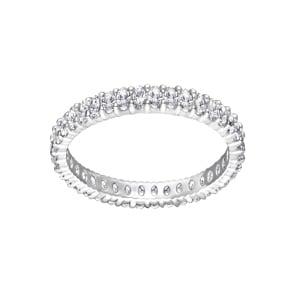 Swarovski Vittore Mémoire Ring, weiss, rhodiniert