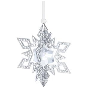 Swarovski Weihnachtsornament Stern, Silberfarben